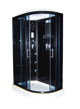 This is a view of the shower model S 1615, a luxury shower enclosure, shower stall.