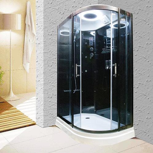 S-1615 Oblong Curved Corner Shower Enclosure