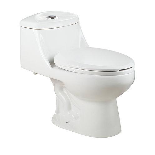 Enviro12EA-5 One Piece Dual-Flush Toilet White