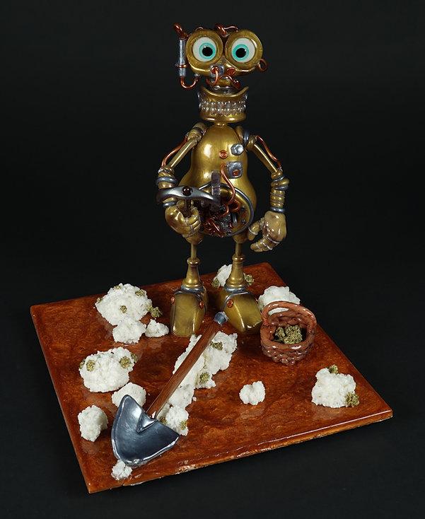 """Grégoire Goël, lauréatdu """"Decorative Exhibit"""" de l'exposition""""Swiss Cake Festival"""" de Zurich 2017"""