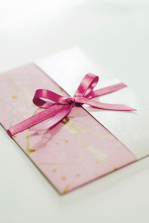 růžová karta