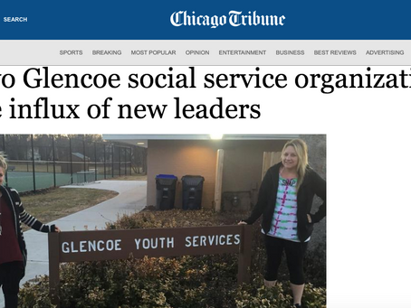 Two Glencoe Social Service Organizations See Influx of New Leaders: Chicago Tribune/Glencoe News