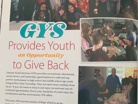 GYS Provides Youth an Opportunity to Give Back
