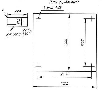 Пресс для правки крышек люков полувагонов