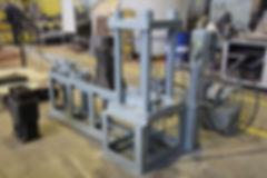 Стенд для сжатия амортизатора поглощающего аппарата