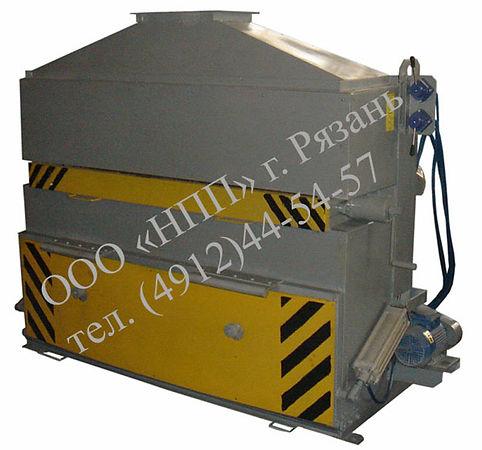 Установка для сухой очистки тормозного оборудования