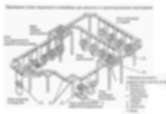 Подвесной конвейер для ремонта и транспортировки автосцепки