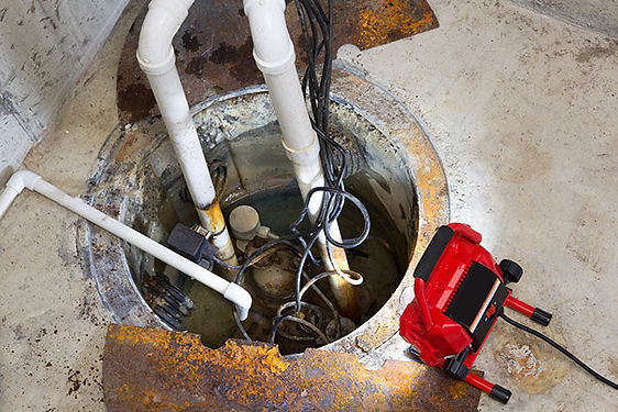 Pump replacement by Patriot Sewer & Drain