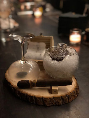 The Lost Borough cocktail