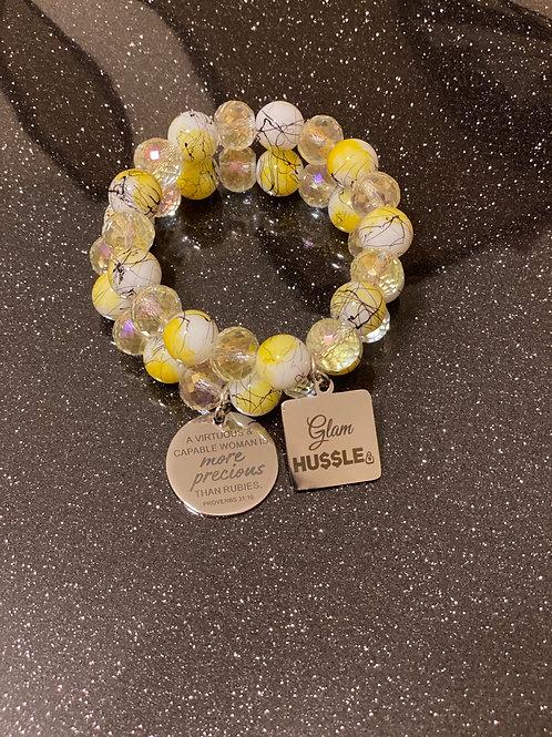 Glam HUSSLE Bracelets