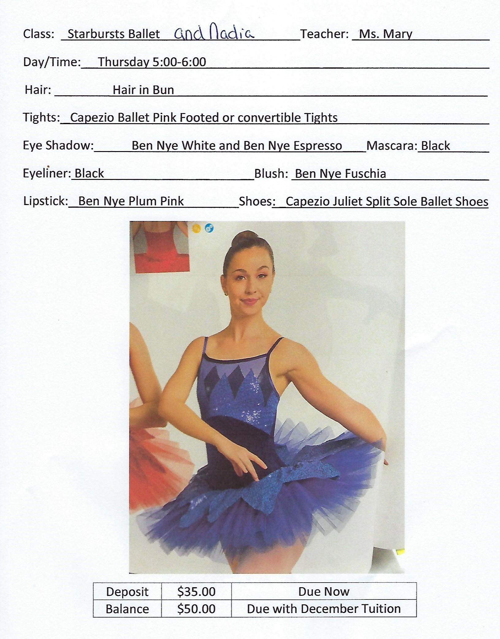 Starbursts Ballet