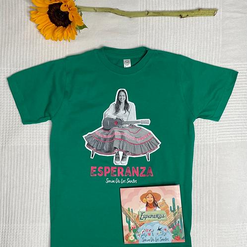 ESPERANZA Bundle (CD & Tshirt Kids & Adults)