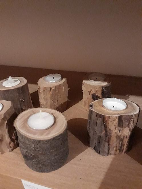 Bougeoire en bois