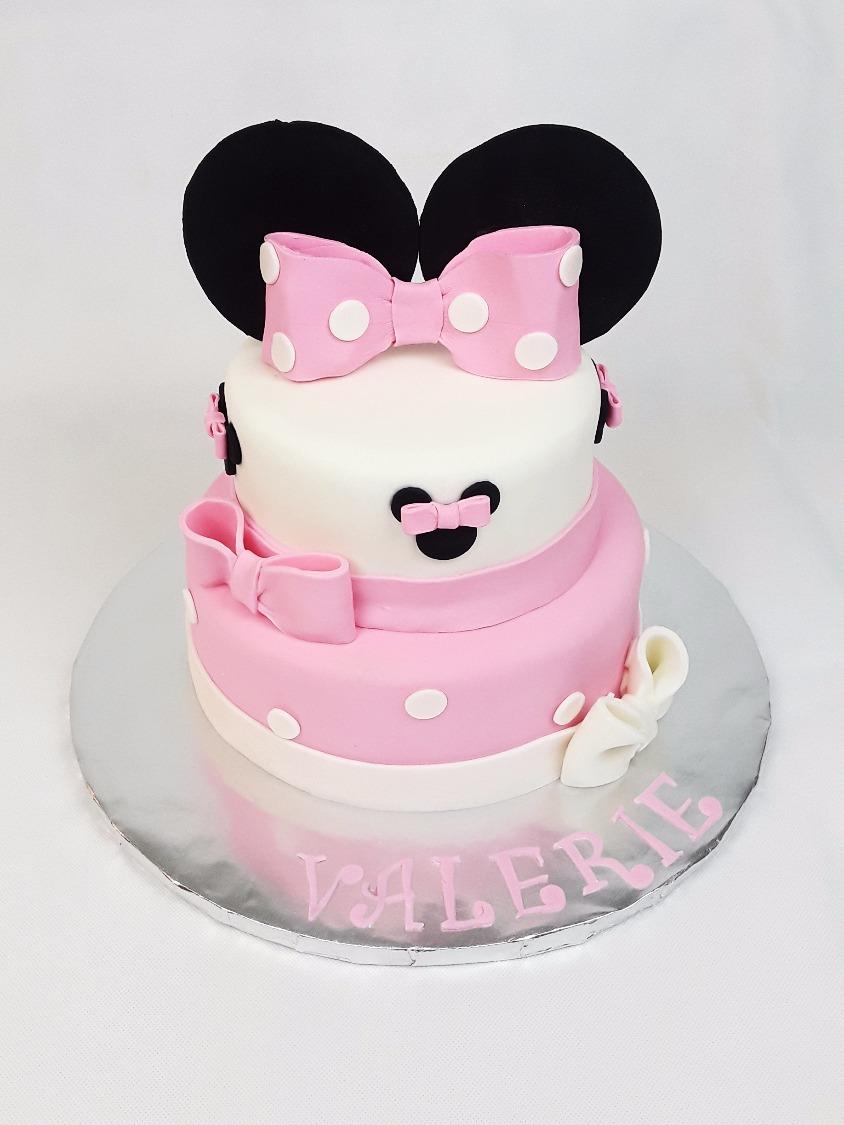 Custom Minnie Mouse Cake
