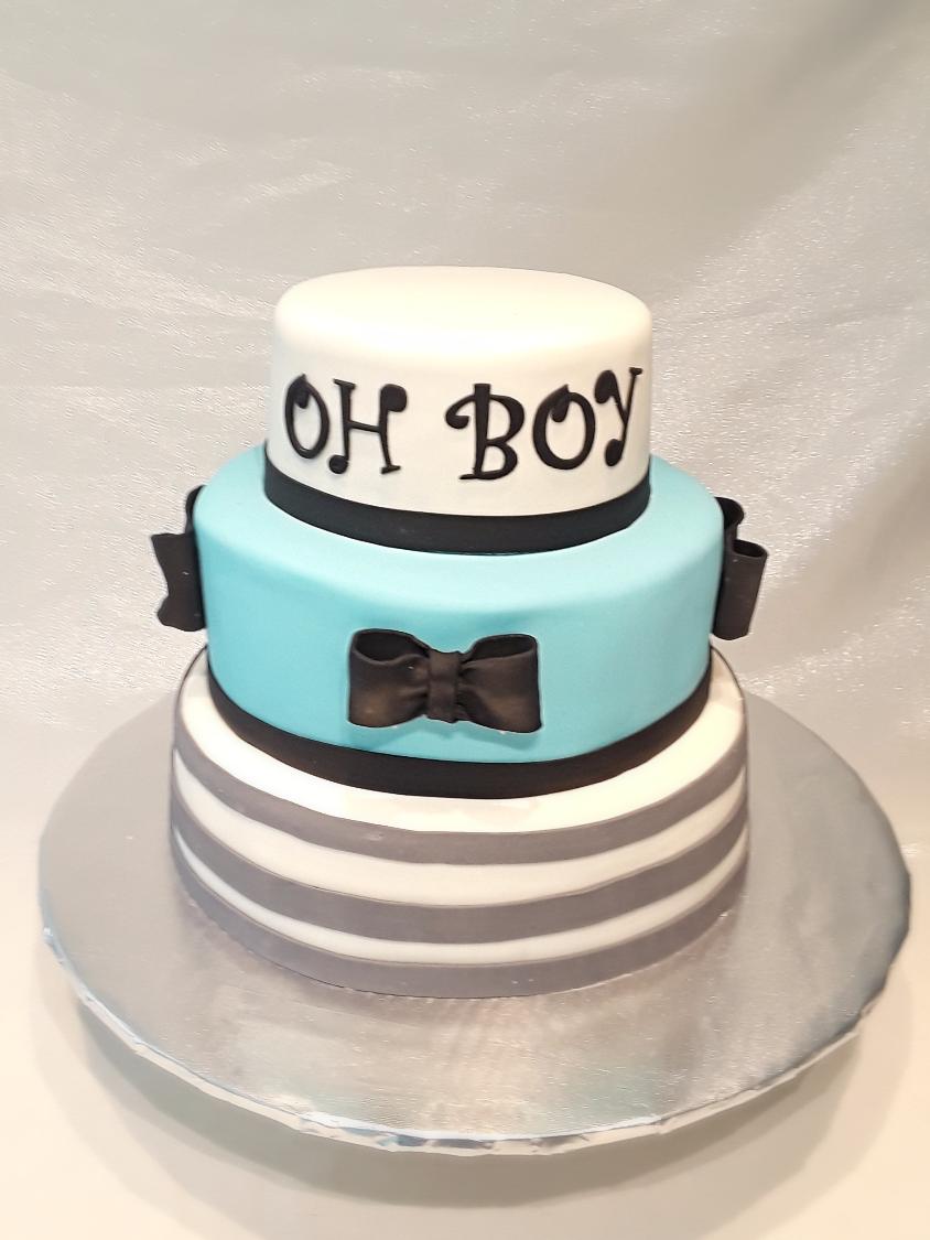 Oh Boy Custom Cake