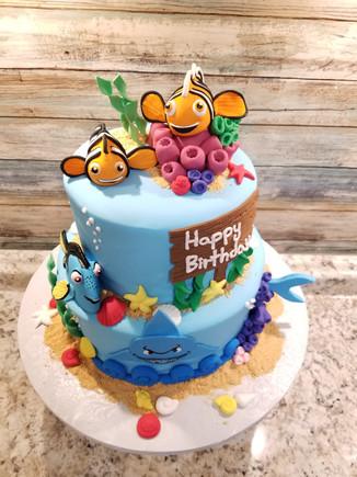 Finding Nemo  Custom Cake