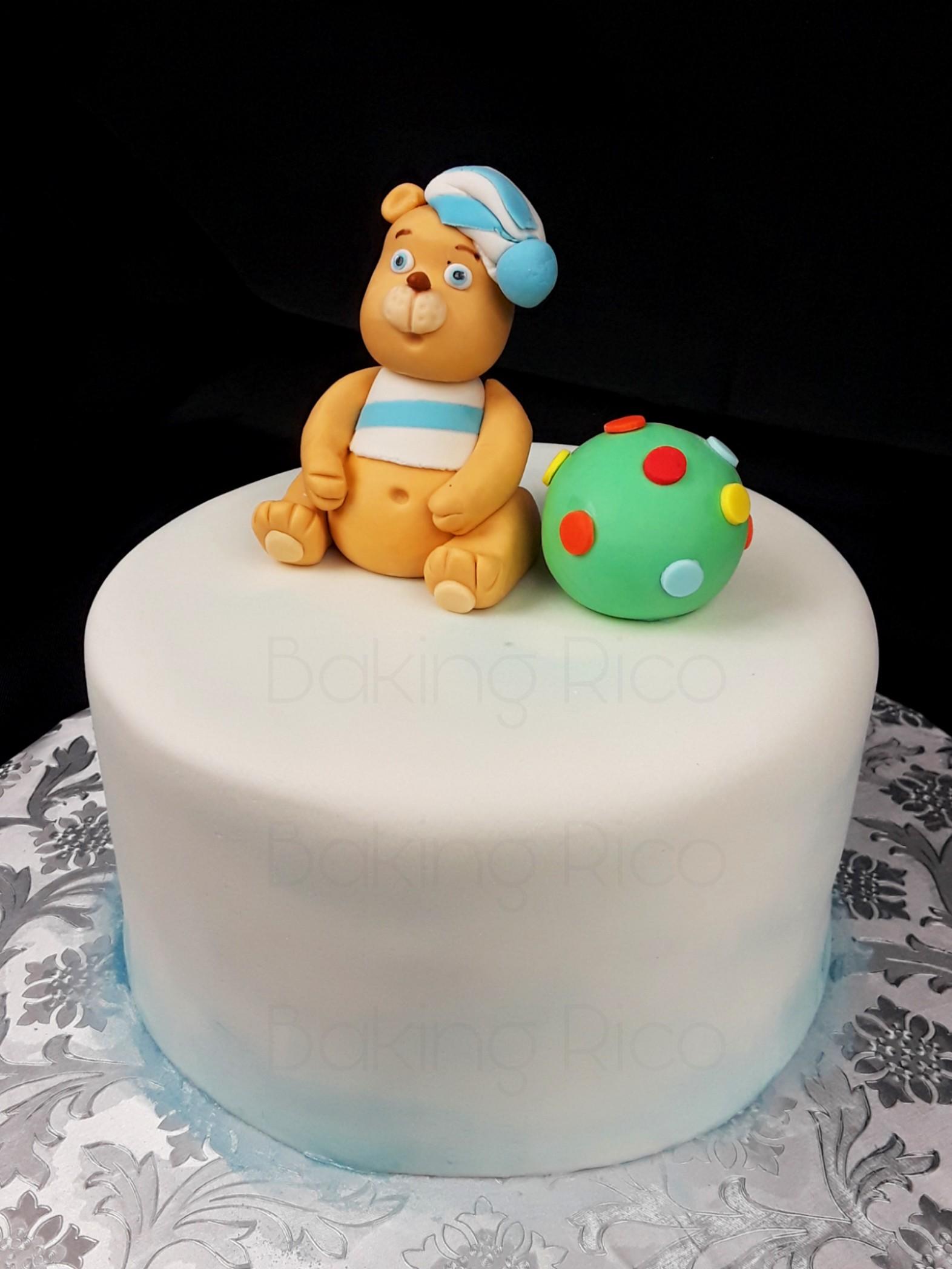 Pastel de Teddy bear
