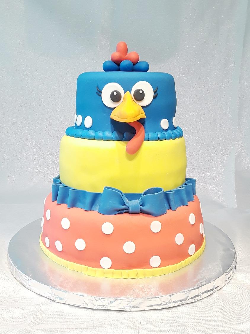 La Galinha Cake