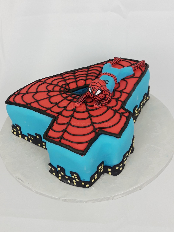 Spiderman Custom Cake