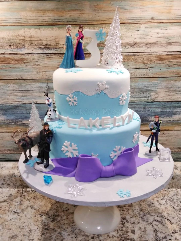 Frozen Custom Cake