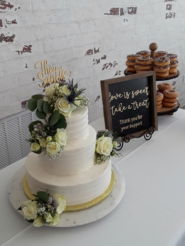 Custom country Wedding Cake