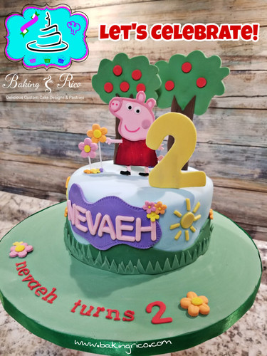 Pepa the Pig Cake