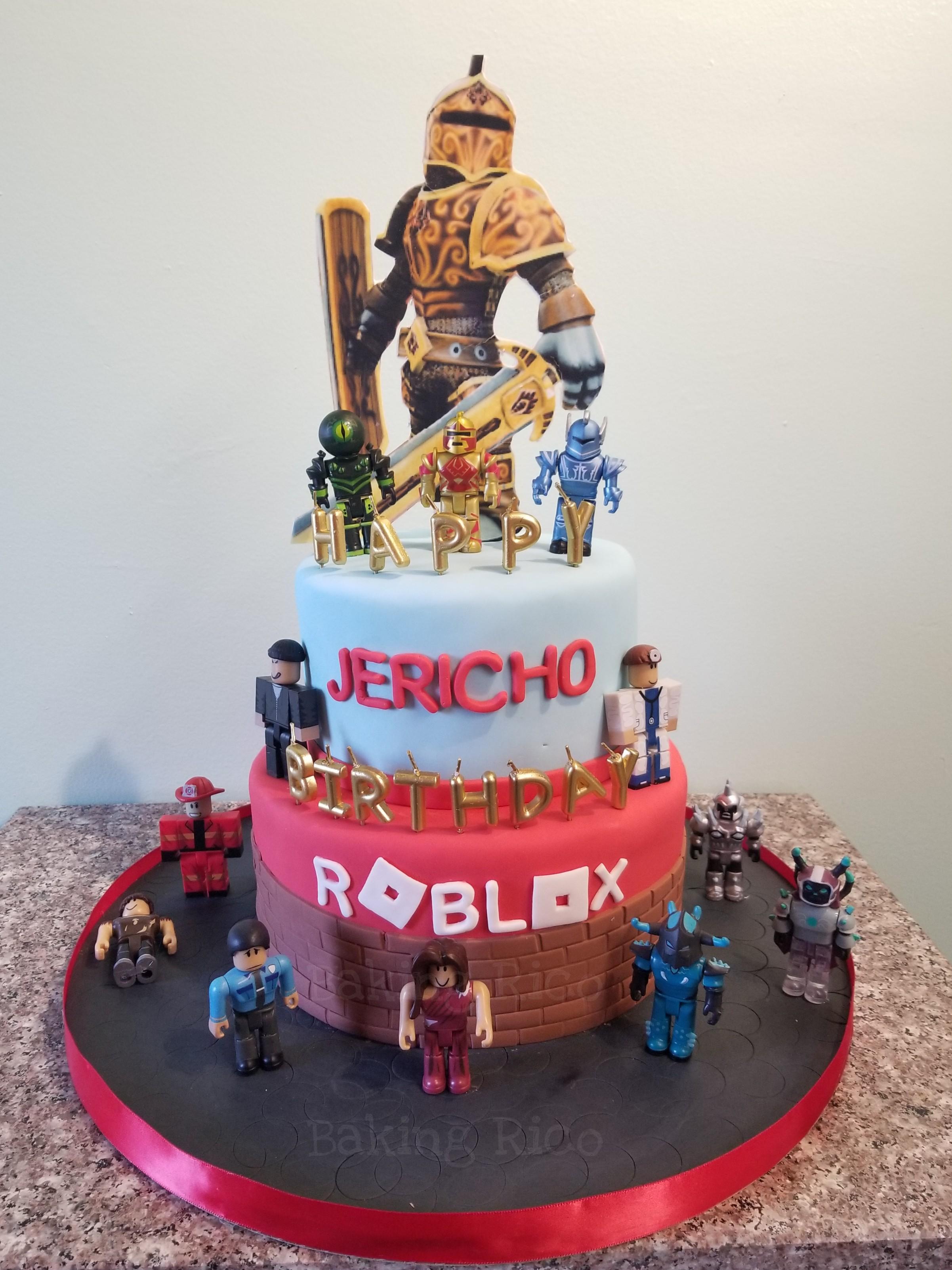 Roblox Custom Birthday Cake