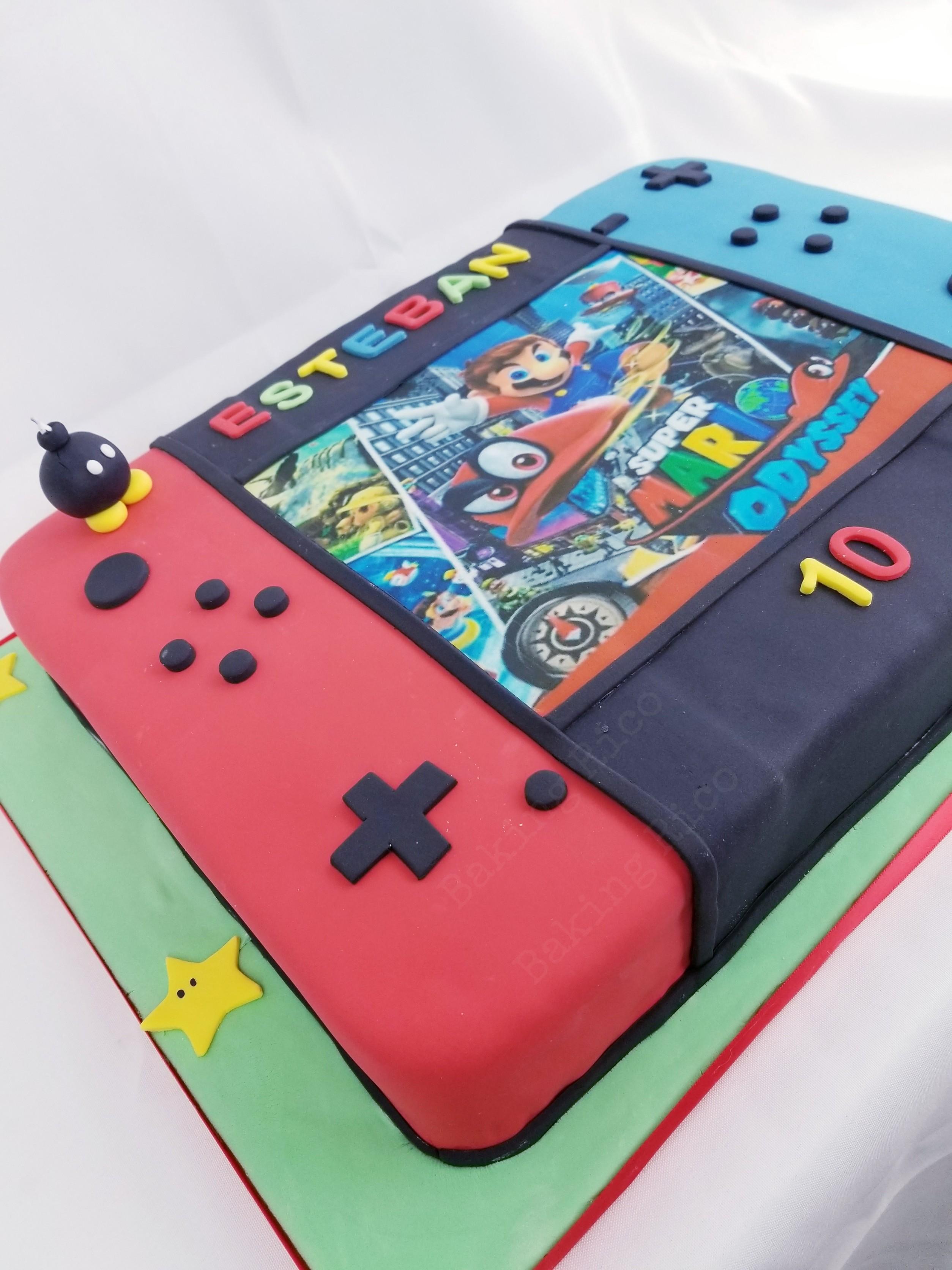Nintendo Switch Custom Cake
