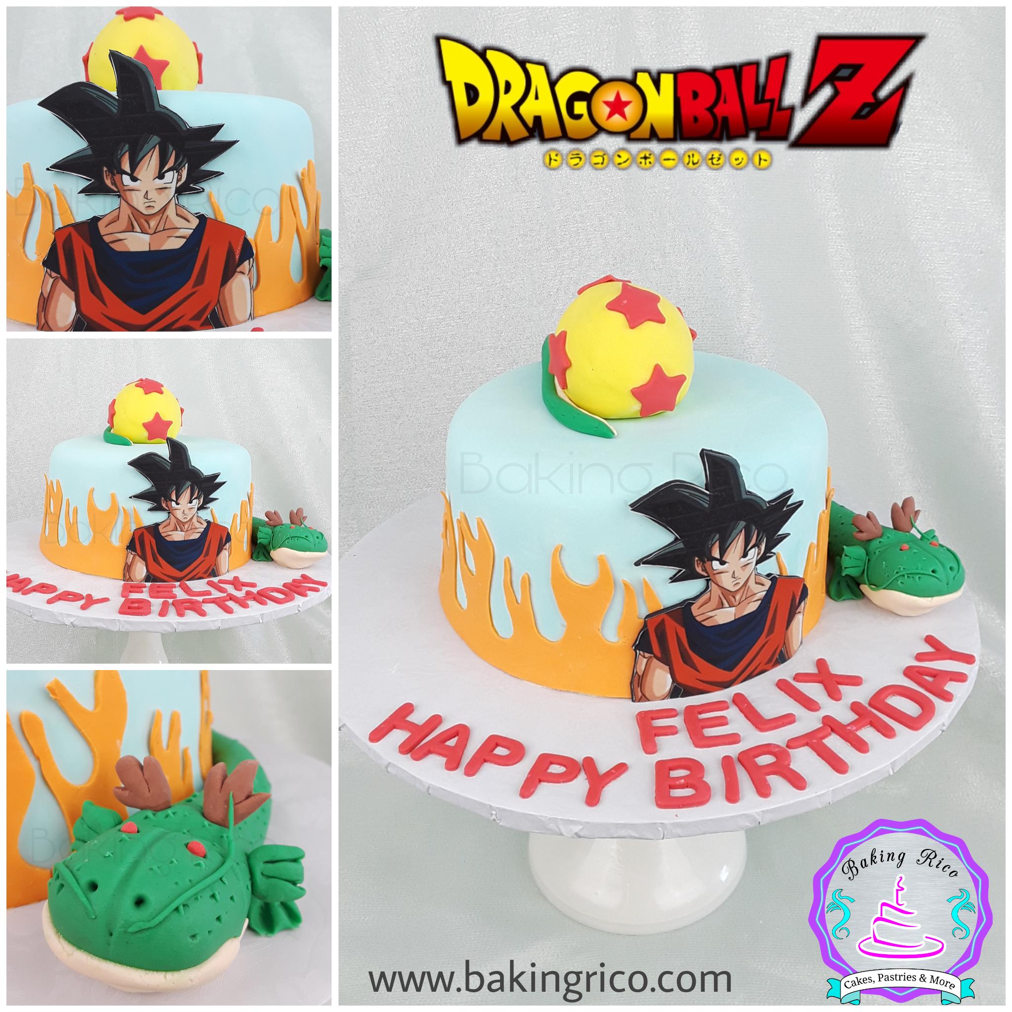 Pastel de Dragon ball Z