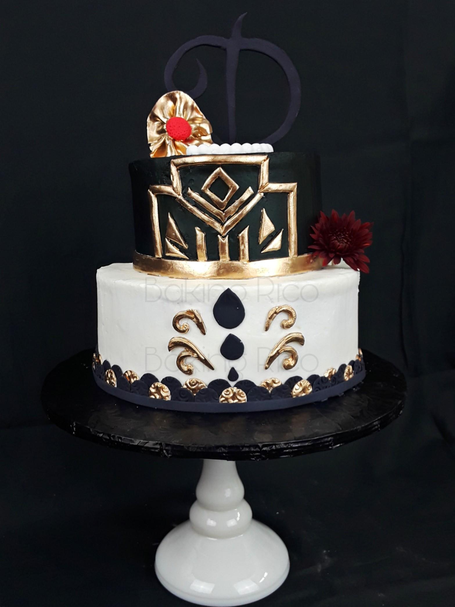 Stylish Birthday Cake