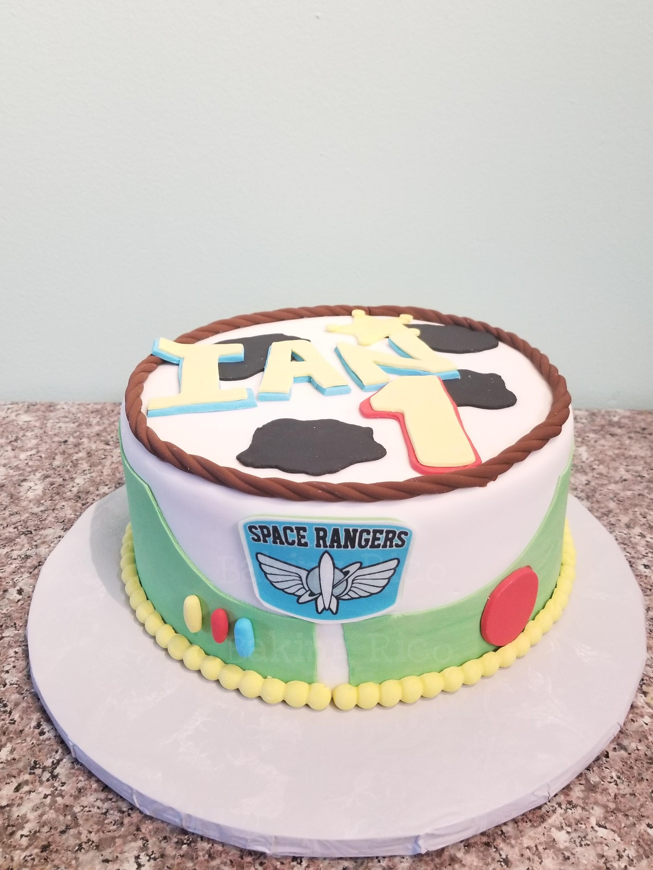 Toy Story theme Cake