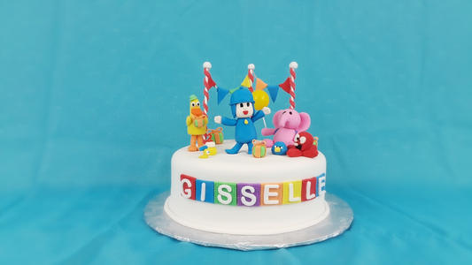 Pocoyo Birthday Cake