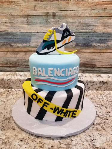 Custom Birthday Cake.