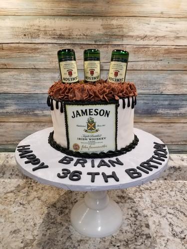 Lets drink birthday cake