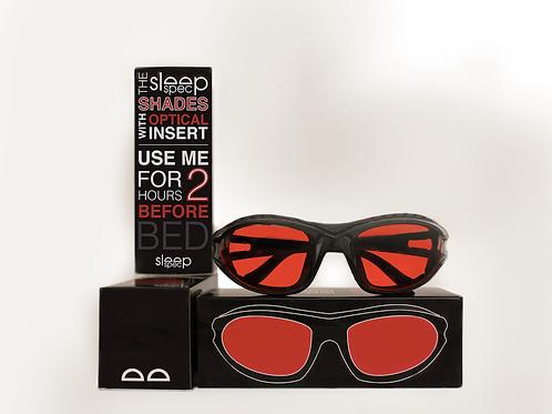 SleepSpec Shades with Optical Insert