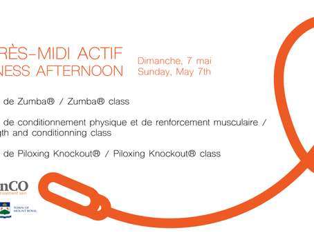 Join MFAC For A Fitness Afternoon!