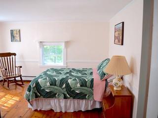 Freshly painted Bedroom