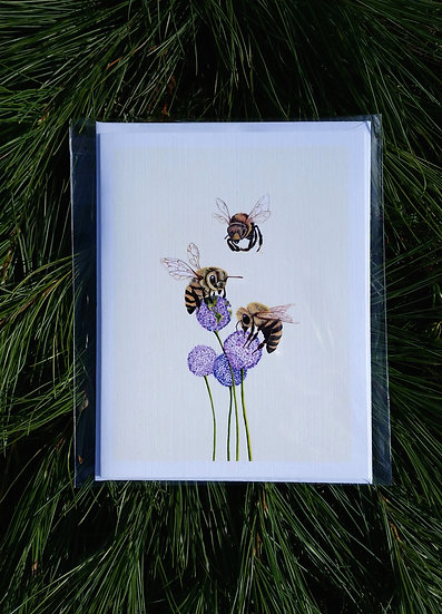 "Love to the Bee""s"" Greeting Cards"