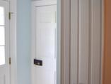 Freshly painted Entryway