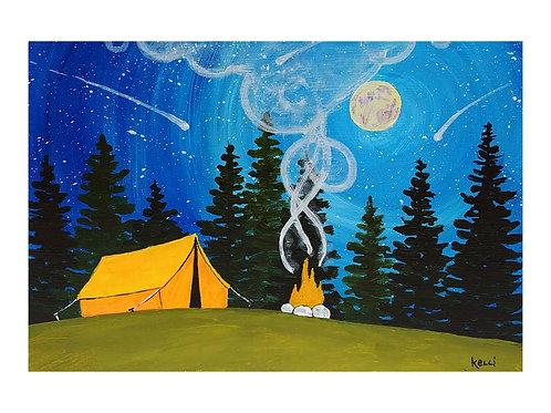 Art Card: Camping