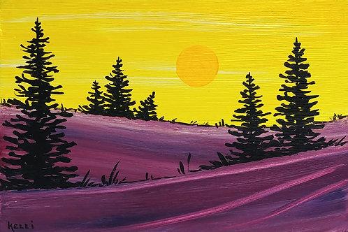 """""""Pine Landscape 6"""""""