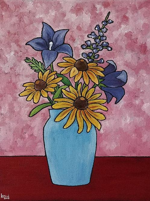 """Vase of Flowers O_6"""