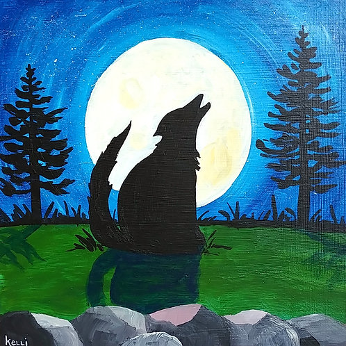 """Howl at the Moon 2"""