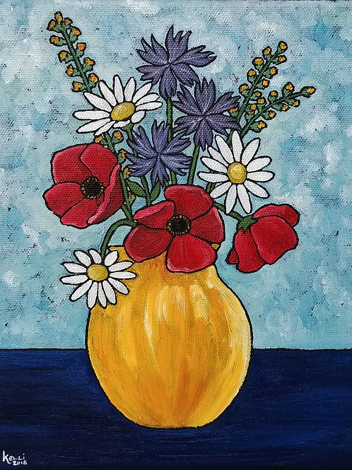 """Vase of Flowers O_5"""