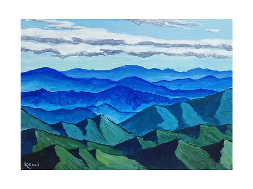 Art Card: Mountains 1