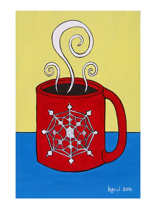 Art Card: Snowflake Mug