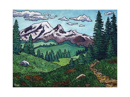 Art Card: Mountain Landscape 6