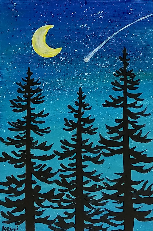 """Evening Pines 2"""