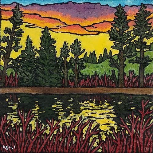 """Square Landscape #90"""