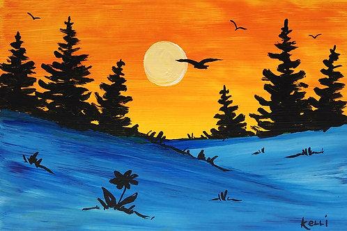 """""""Pine Landscape 9"""""""